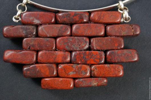 """Колье, бусы ручной работы. Ярмарка Мастеров - ручная работа. Купить """"Another brick in the wall"""" колье. Handmade."""