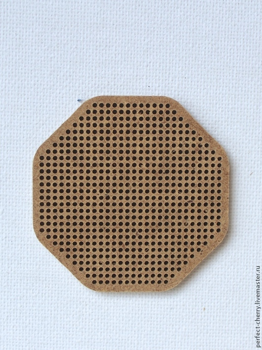 """Вышивка ручной работы. Ярмарка Мастеров - ручная работа. Купить Основа для вышивания """"Октагон"""". Handmade. Бежевый, основа для вышивки"""