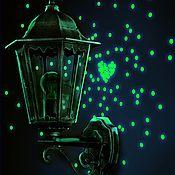 Для дома и интерьера handmade. Livemaster - original item Luminous sticker - Placer distant stars. Handmade.
