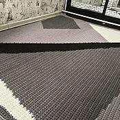 Для дома и интерьера ручной работы. Ярмарка Мастеров - ручная работа Вязаный палас  1,80м на 2,10м. Handmade.