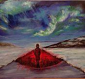Картины и панно ручной работы. Ярмарка Мастеров - ручная работа ГорячееСердце: растопит льды и осветит твой путь. Handmade.