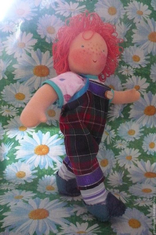 Вальдорфская игрушка ручной работы. Ярмарка Мастеров - ручная работа. Купить Шитая кукла Антошка. Handmade. Вальдорфская кукла