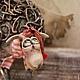 Коллекционные куклы ручной работы. Заказать овечка Дуся и Фрося. 'АняМаня'. Ярмарка Мастеров. Авторская кукла, Паперклей