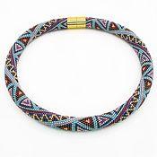 Украшения handmade. Livemaster - original item The wiring from the Japanese bead Mosaic. Handmade.