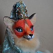 Куклы и игрушки handmade. Livemaster - original item Fox-The Princess. Handmade.