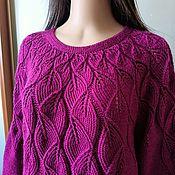 Одежда handmade. Livemaster - original item Violet leaf fall. Handmade.