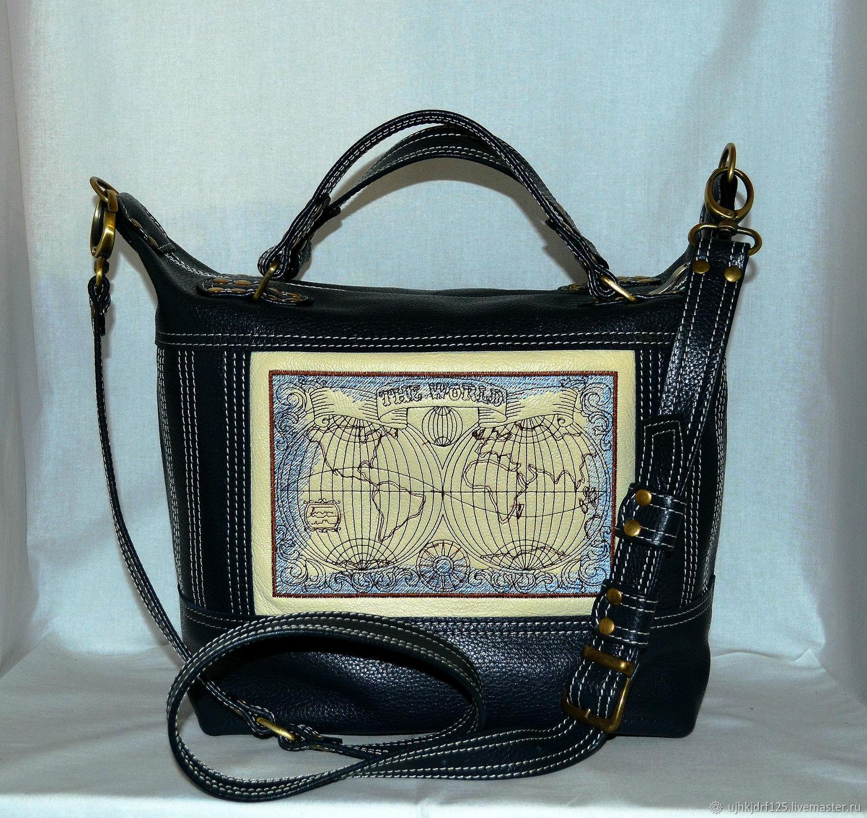 Купить Женская кожаная сумка в интернет магазине на Ярмарке Мастеров