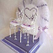 Свадебный салон ручной работы. Ярмарка Мастеров - ручная работа Подушечка для колец Принцесса. Handmade.