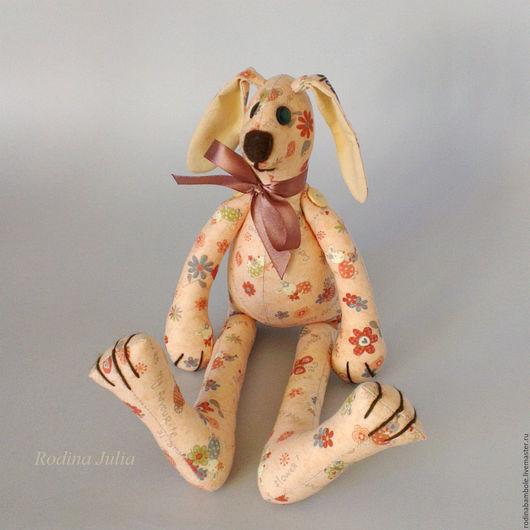 """Игрушки животные, ручной работы. Ярмарка Мастеров - ручная работа. Купить Мягкая игрушка """"Карамельный Зайка"""". Handmade. Игрушка"""