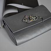 Сумки и аксессуары handmade. Livemaster - original item Clutch-cosmetic bag made of Mouse skin. Handmade.