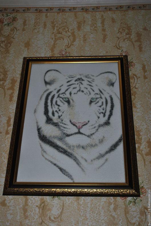 Белый тигр, мастер Юлия bussinka72