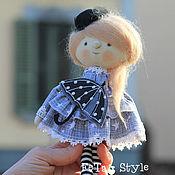 Куклы и игрушки handmade. Livemaster - original item Doll Mary and brooch Umbrella. Handmade.