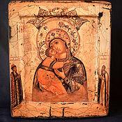 Картины и панно handmade. Livemaster - original item Icon of the Mother of God
