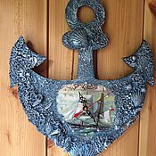Для дома и интерьера ручной работы. Ярмарка Мастеров - ручная работа Часы Море. Handmade.