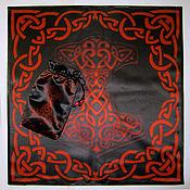 handmade. Livemaster - original item A set of THOR`s HAMMER, pouch and cloth for divination or ritual. Handmade.