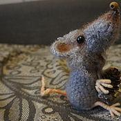 Год Крысы 2020 ручной работы. Ярмарка Мастеров - ручная работа Крыса серая. Handmade.