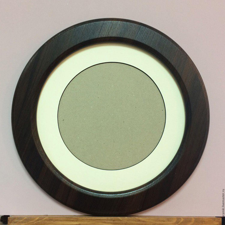 рамка круглая для фото купить