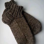 Аксессуары handmade. Livemaster - original item Deal socks of wool. Handmade.