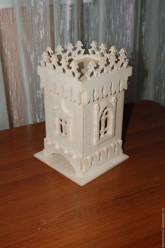 Чайный домик, чайная башенка 200. Заготовка для декупажа и росписи.