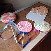 Подарки к праздникам ручной работы. Ярмарка Мастеров - ручная работа Гигантские конфетки. Handmade.