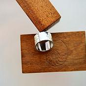 Украшения ручной работы. Ярмарка Мастеров - ручная работа Серебряное кольцо Б. Handmade.