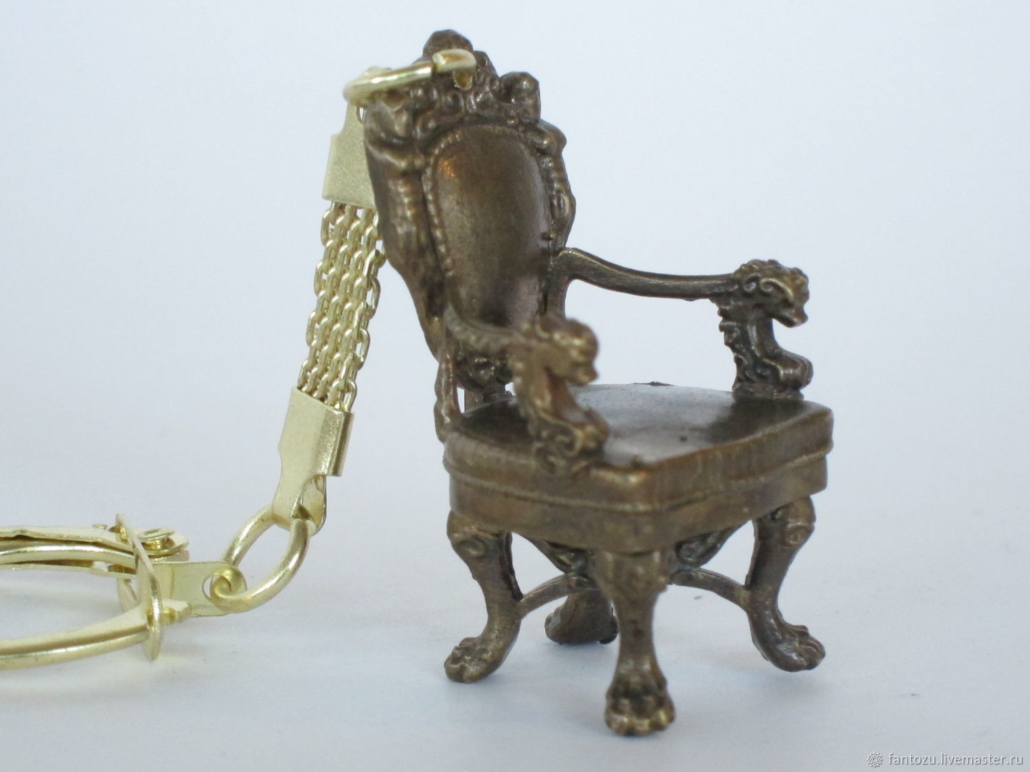 Brass key chain Chair, Key chain, Yaroslavl,  Фото №1