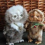 Куклы и игрушки ручной работы. Ярмарка Мастеров - ручная работа Совята. Handmade.