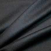Ткани ручной работы. Ярмарка Мастеров - ручная работа Ткань пальтовая Л330  , т.синяя , MaxMara, Италия. Handmade.