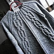 Одежда handmade. Livemaster - original item A sweater made of Italian kid mohair and wool mixture. Handmade.