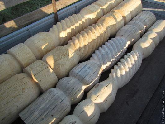 Быт ручной работы. Ярмарка Мастеров - ручная работа. Купить Резные столбы ручной работы. Handmade. Резные столбы