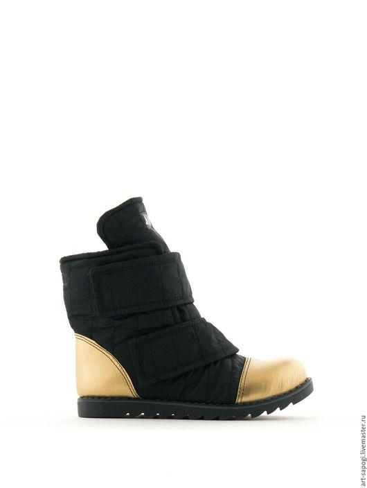Обувь ручной работы. Ярмарка Мастеров - ручная работа. Купить Зимние ботинки  6-259-02. Handmade. Женская обувь