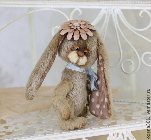 """Мишки Тедди ручной работы. Ярмарка Мастеров - ручная работа. Купить заяц друзья  Тедди """" Зайчик Соня """". Handmade."""