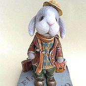 Куклы и игрушки ручной работы. Ярмарка Мастеров - ручная работа Большое путешествие мистера Бонки. Handmade.