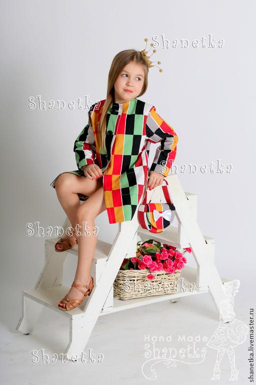 Верхняя одежда ручной работы. Ярмарка Мастеров - ручная работа. Купить Family-look пальто детское и женкое  летние хлопковые Хельсинге. Handmade.