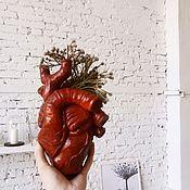 Изделия ручной работы. Ярмарка Мастеров - ручная работа Сердце ( органайзер и обычное). Handmade.
