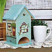 Для дома и интерьера ручной работы. Ярмарка Мастеров - ручная работа Чайный домик Прованс. Handmade.