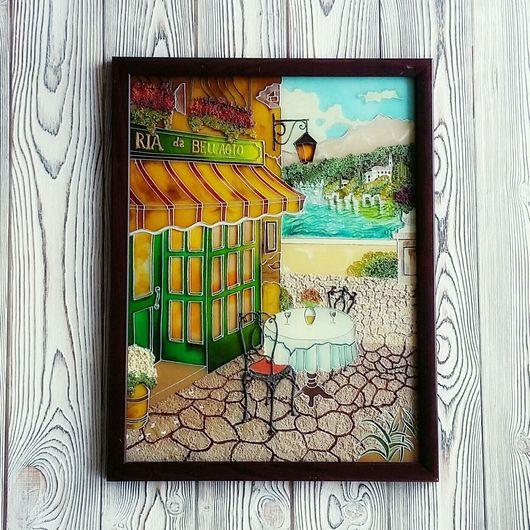 Картина с витражной росписью Итальянская