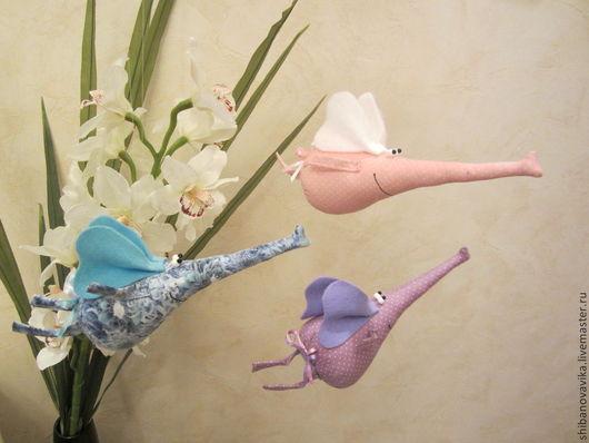 Игрушки животные, ручной работы. Весна! Слоны прилетели)) Автор Шибанова Виктория. Дизайн-студия авторских игрушек `SamiSrukami`. Ярмарка мастеров.