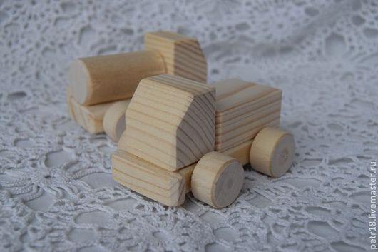 Техника ручной работы. Ярмарка Мастеров - ручная работа. Купить Машинки мини.. Handmade. Белый, деревянная машинка, Декупаж