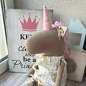 Куклы и игрушки ручной работы. Ярмарка Мастеров - ручная работа ЕДИНОРОЖКА игрушка для детей. Handmade.