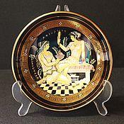 Винтаж handmade. Livemaster - original item Handmade decorative plate, made by Fakiolas, Greece. Handmade.