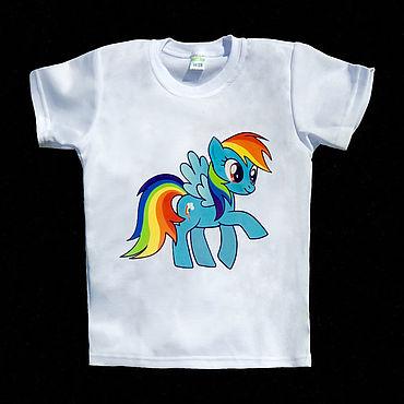 Одежда ручной работы. Ярмарка Мастеров - ручная работа Футболки My Little Pony. Handmade.