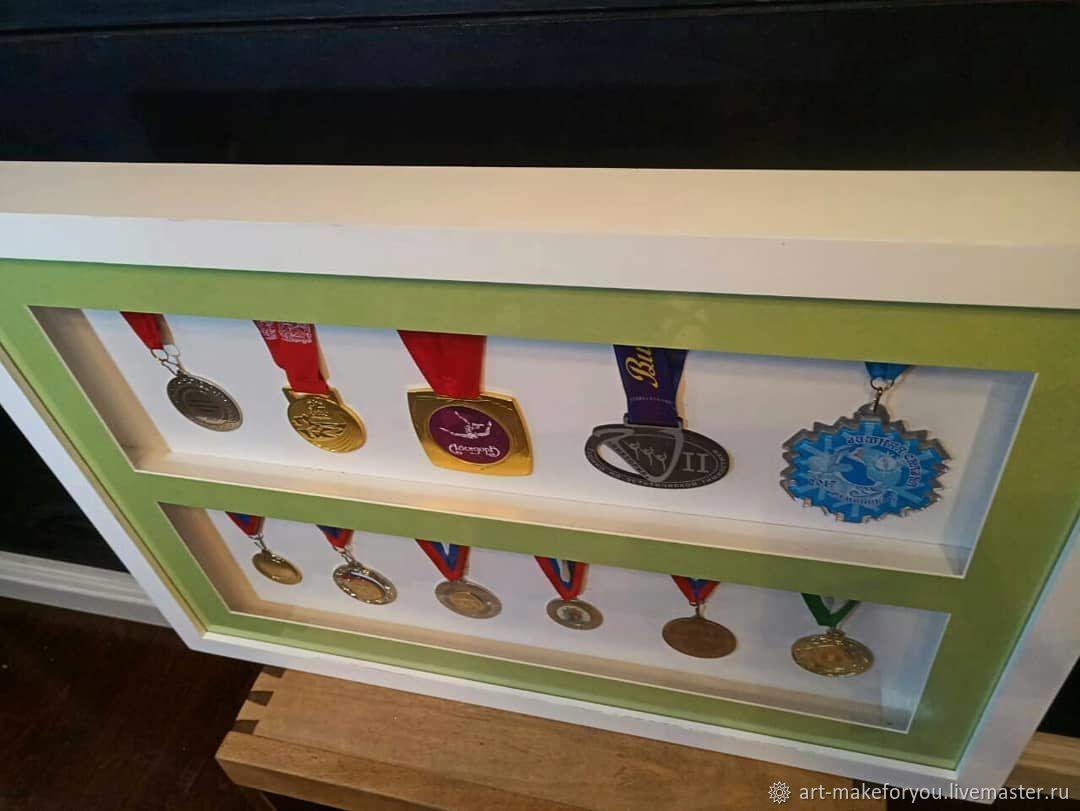 Медальница Глубокая 3D рамка Витрина, Фоторамки, Москва,  Фото №1