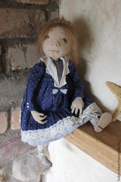 Коллекционные куклы ручной работы. Ярмарка Мастеров - ручная работа. Купить Варя кукла текстильная будуарная подвижная. Handmade. Кукла