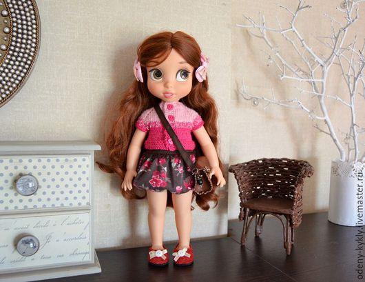 Одежда для кукол ручной работы. Ярмарка Мастеров - ручная работа. Купить №030 Наряд для куклы Дисней/Disney.. Handmade. Кукла дисней