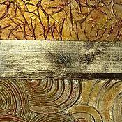 Дизайн и реклама ручной работы. Ярмарка Мастеров - ручная работа Декор поверхности стены, стула, стола, рамы, двери, потолок поталью. Handmade.