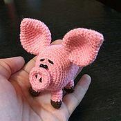 Мягкие игрушки ручной работы. Ярмарка Мастеров - ручная работа Свинка Непеппа. Handmade.