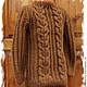 Одежда унисекс ручной работы. Ярмарка Мастеров - ручная работа. Купить свитер детский вязаный джемпер. Handmade. Коричневый