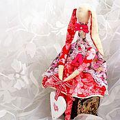 Куклы и игрушки ручной работы. Ярмарка Мастеров - ручная работа Зайка. Кукла в стиле Тильда. Handmade.