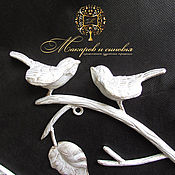 Для дома и интерьера handmade. Livemaster - original item Hanger wrought iron love birds. Handmade.